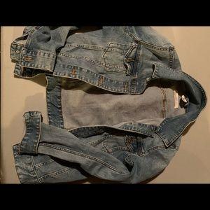 H&M  Denim Jean Jacket size 6
